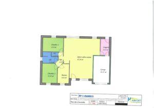 maison plain pied 3 chambre Habitat Conception
